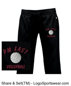 Volleyball Pants Design Zoom